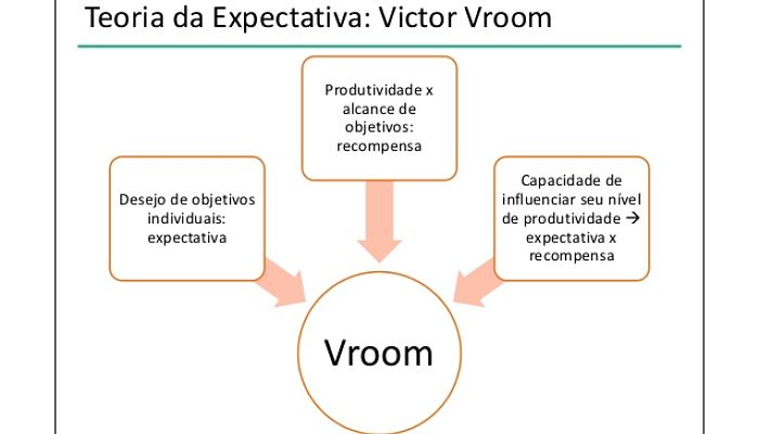teoria expectativa de vroom
